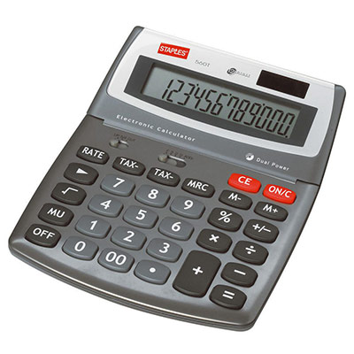Calculatrice de bureau 560 - 12 chiffres (photo)