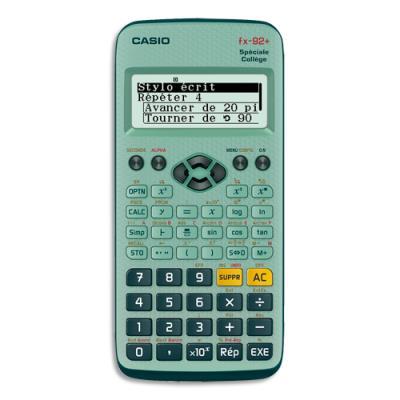 Calculatrice scientifique Casio FX 92 spéciale Collège (photo)