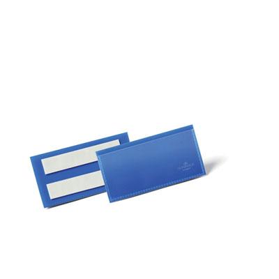 Pochettes logistiques Durable - adhésives - 100 x 38 mm - bleu