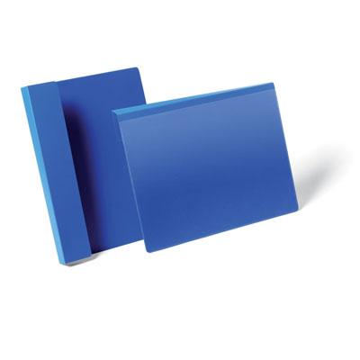 Pochettes logistiques Durable à suspendre - format A4 - paysage - 297 x 210 mm - bleu