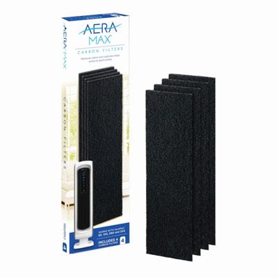 Filtre charbon Fellowes pour purificateur d'air AeraMax DX5 - lot de 4