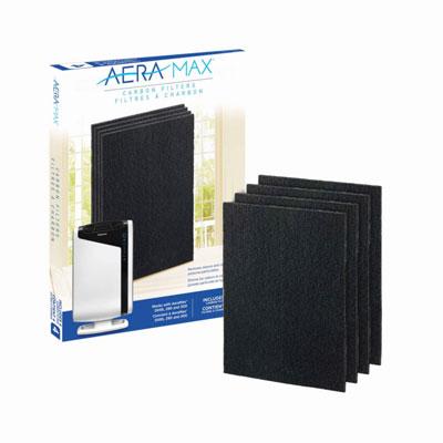Filtre charbon pour purificateur d'air Fellowes AeraMax DX95 - lot de 4