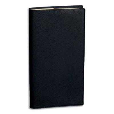 Agenda 2019 de poche Quo Vadis Planital - décembre à décembre - 17 x 8,8 cm à l'italienne - noir (photo)
