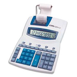 Calculatrice de bureau professionnel avec imprimante Ibico 1221x - 12 chiffres (photo)