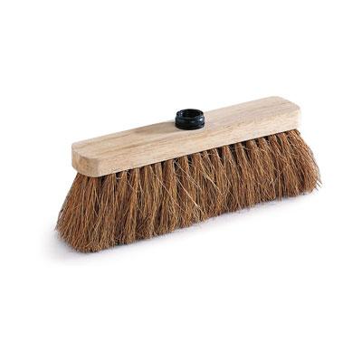 Balai coco monture bois - 30 cm