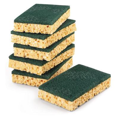 Paquet de 10 éponges Scotch-Brite - vert