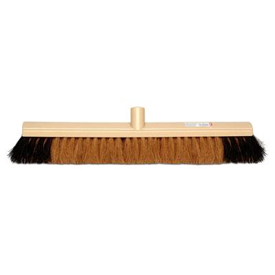 Balai Moustache Brosserie Thomas - fibres coco et PVC - 60 cm