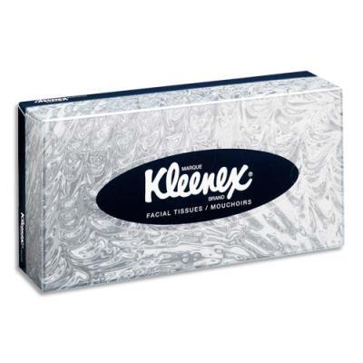 Mouchoirs Kleenex - boite de 100 mouchoirs douceur extrême (photo)