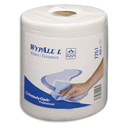 Bobine d'essuie mains à dévidage central Wypall L20 - 400 formats - lot de 6 (photo)