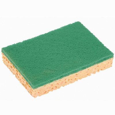 Tampons-éponges Sponrex vert - lot de 10 (photo)