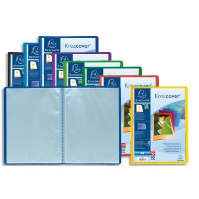 Protège document personnalisable Exacompta - PP Kreacover - 60 vues assortis (photo)