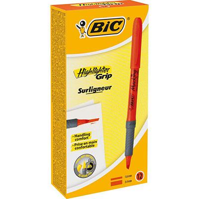brite liner Grip - surligneur highlighter grip orange (photo)