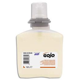 Recharge savon mousse antibactérien pour distributeur Gojo TFX - 1200 ml (photo)