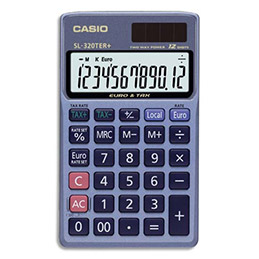 Calculatrice de poche Casio SL 310 TER - 10 chiffres (photo)