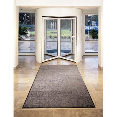Tapis d'accueil Floortex Advantagemat en polypropylène - 120 x 300 cm - trafic modéré - gris (photo)