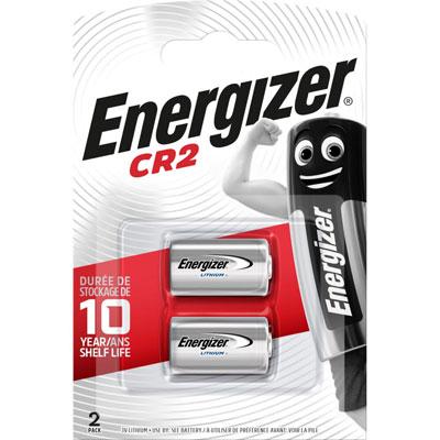 Pile photo Energizer CR2 / DLCR2 / CR2R - lot de 2