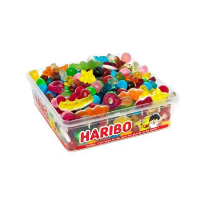 Assortiment de bonbons haribo Happy Life - parfums fruités - boîte de 700g