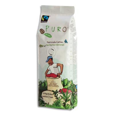 Café Bio moulu 250 gr Puro (photo)