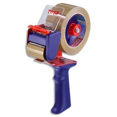 Dévidoir avec frein Tesa 6300 - pour rouleaux adhésifs d'emballage 100m ou 66m
