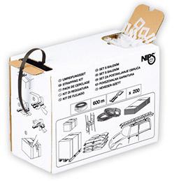 Kit de cerclage Nips en boîte distributrice - pour cerclage manuel (photo)