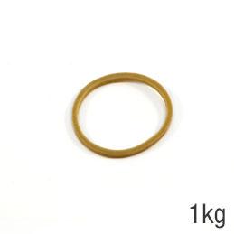 Sac de 1kg de caoutchouc blond 40x1,8mm