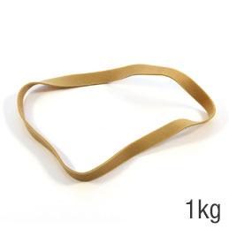 Sac de 1kg de caoutchouc blond 200x10mm