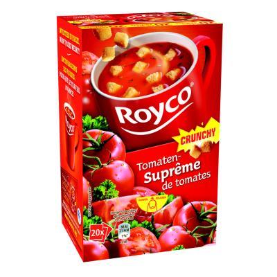 Soupes Royco - crunchy tomates - boîte de 20