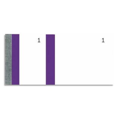 Bloc vendeur Elve violet - 100 feuillets numérotés 6 x 13,5 cm - 1 coupon détachable (photo)