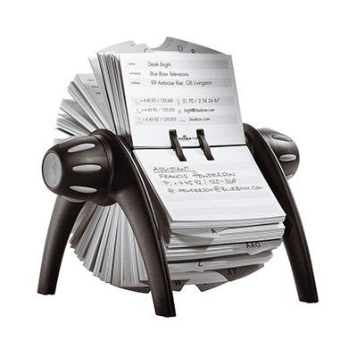 Fichiers Telindex Flip rotatif pour fiches contact (photo)
