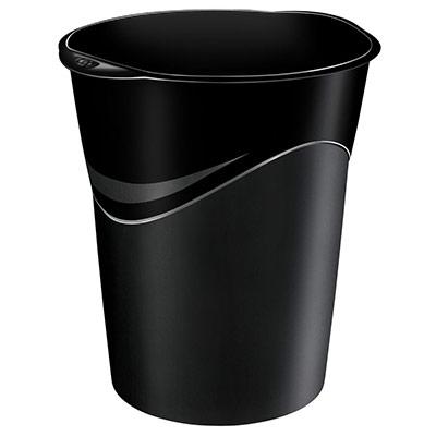 Corbeille à papier 14 litres 280 Noir GreenSpirit (photo)