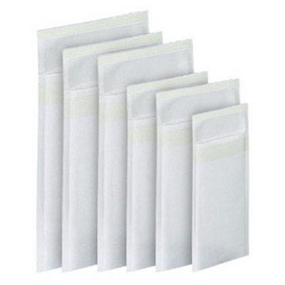 Enveloppe matelassée AirCap en papier kraft - 220 x 260 mm - 72 g/m² bande autoadhésive - blanc - boîte 100 unités (photo)