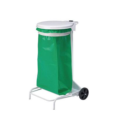 Support de sac à pédale mobile COLLECROULE Rossignol - 110L (photo)