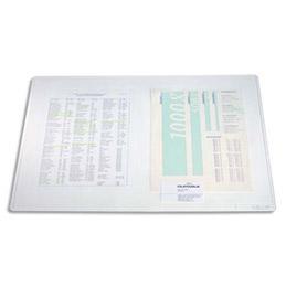 Sous mains Duraglas transparent - format 50x65 cm