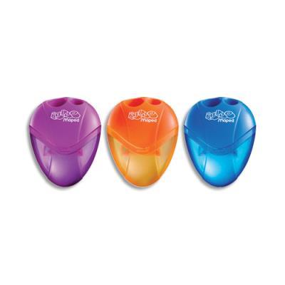 Taille crayons 2 usages Igloo - avec réservoir - coloris assortis