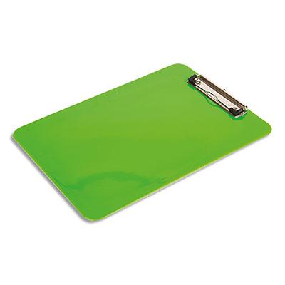 Porte Bloc Pergamy - pour documents format A4+ - plastique - Vert - L23xH31,6 cm