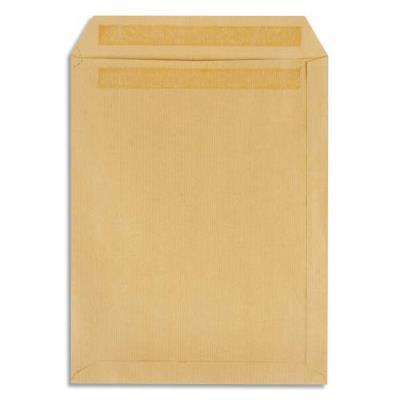 Pochettes 229x324 1er prix - fenêtre 50x100 - kraft brun - autocollante - 90g - boîte de 250 (photo)