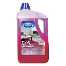 Nettoyant multi-surfaces Albiore - à base d'alcool -bidon 5 kg (photo)