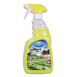 Dégraissant Ultra Citric Albiore - pour saletés tenaces - spray 750 ml (photo)