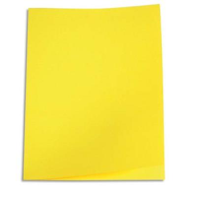 Paquet de 100 chemises 1er prix - carte recyclée 180 grammes - coloris jaune