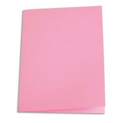 Paquet de 250 sous-chemises en papier recyclé 60 grammes - coloris rose