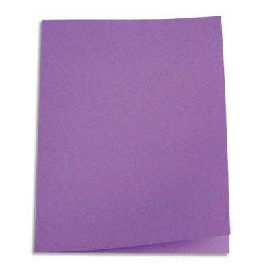 Paquet de 250 sous-chemises en papier recyclé 60 grammes - coloris lilas