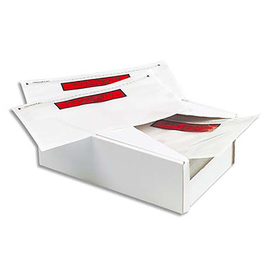 Pochettes document ci-inclus 1er prix - format 225 x 165 mm - boîte de 250
