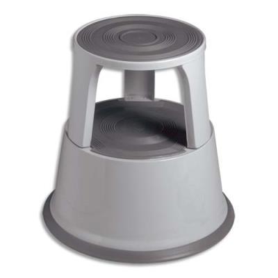 Marchepied 5 Etoiles en acier - diamètre 44 cm - hauteur 40 cm - coloris gris (photo)