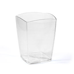 Pot à crayons cristal