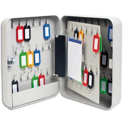 Armoire à clés - capacité 60 clés - couleur sable (photo)