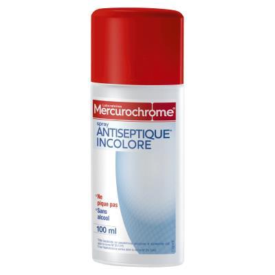 Spray au Mercurochrome - incolore - 100ml (photo)