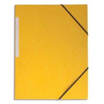 Chemise 1er prix simple à élastique - jaune