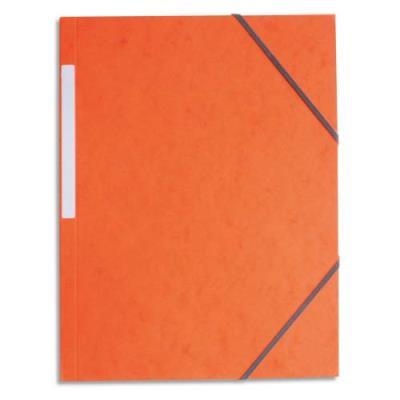 Chemise 1er prix simple à élastique - orange