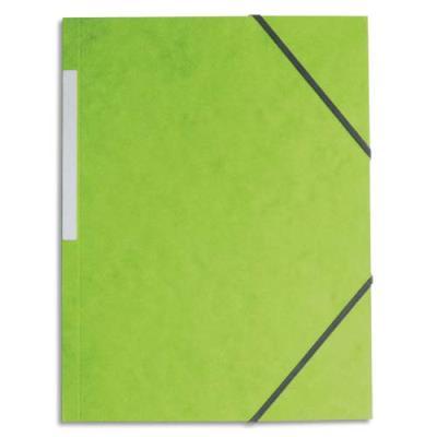Chemise 1er prix simple à élastique - vert clair