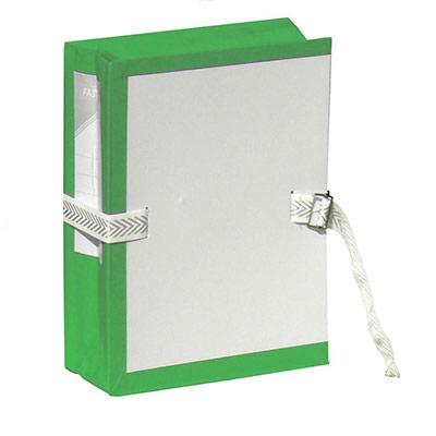 Pochette archives à soufflet - Dos 10 cm - Vert